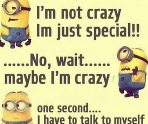 funny, lol, and minions image