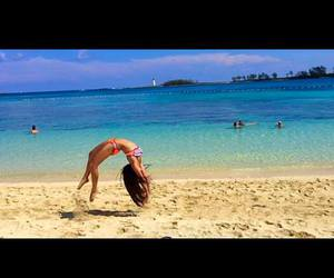 beach, flexibility, and flexible image
