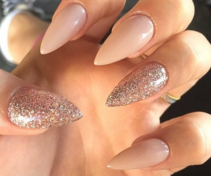 long nails, manicure, and beautiful nails image