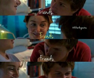 boy, couple, and the fault in our stars image