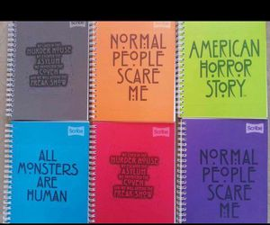 ahs, normal people scare me, and american horror story image