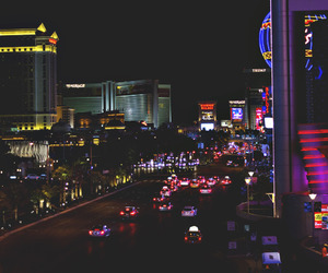 city, exciting, and Las Vegas image