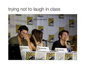 funny, teen wolf, and tyler hoechlin image
