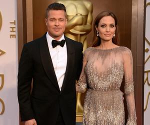 Angelina Jolie, brad pitt, and oscar image