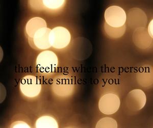 bokeh, smile, and feeling image
