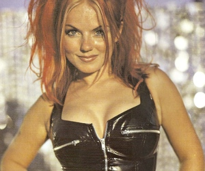 geri halliwell, ginger spice, and spice girls image