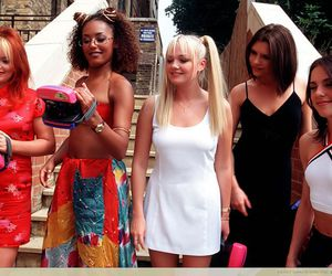 ginger spice, posh spice, and spice girls image