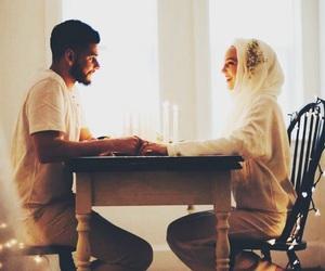 hijab, like, and muslim image