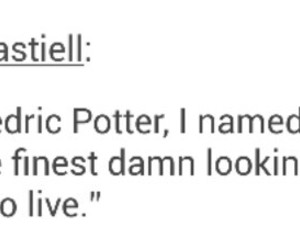 books, cedric diggory, and draco malfoy image
