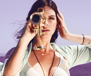 lana del rey and high on the beach image