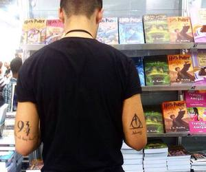 harry potter, love, and tattoo image