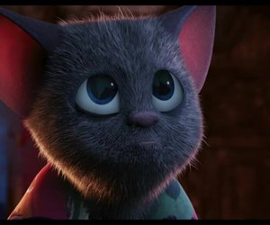cute, sad, and bat image