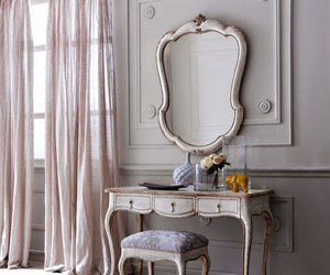 bedroom, dressing table, and furniture image
