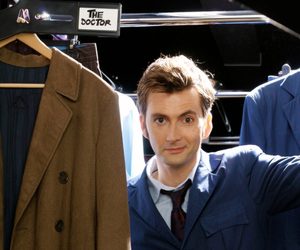 doctor who, david tennant, and the doctor image