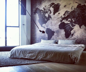 bed, inspiration, and travel image