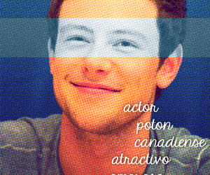 actor, glee, and lovely image