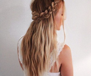 beautiful, braids, and buns image