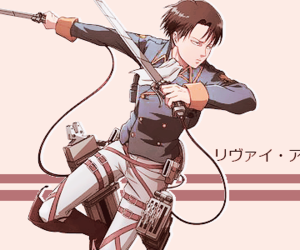 anime, shingeki no kyojin, and rivaille levi image