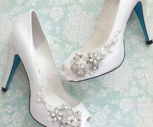 shoes, fashion, and wedding image