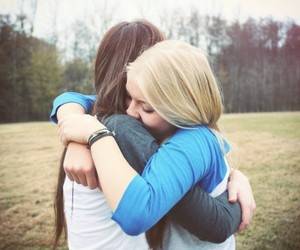 girl, friends, and love image