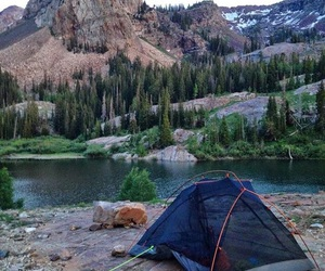 adventure, camping, and summer image