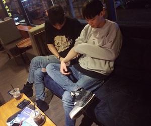 asian boy and korean image