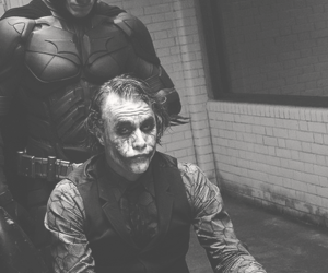 batman, joker, and movie image