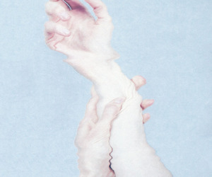 water, pale, and hands image