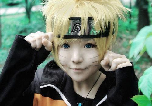 naruto, cosplay, and kawaii image