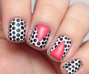 design, dots, and nail image