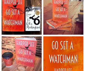 books, Harper Lee, and go set a watchman image
