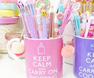 cups, pretty, and organized image