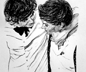 drawing, larry, and stylinson image
