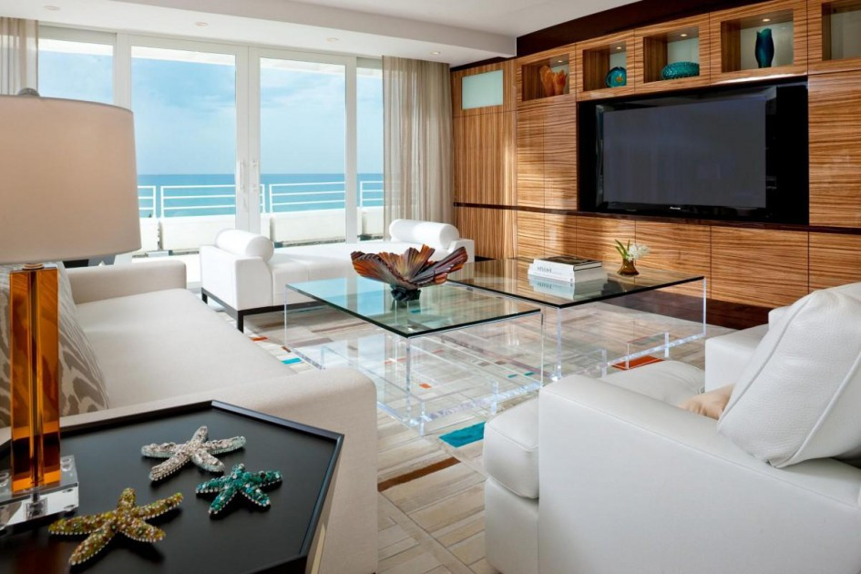 Living Room. Beautiful Design Of Beachy Living Room Ideas ...
