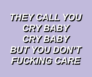 cry baby