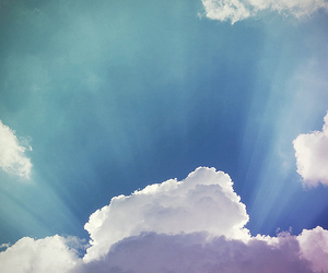 sky, clouds, and light image