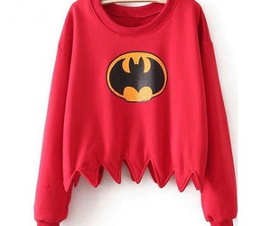batman, sweater, and hipster image