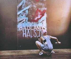 album, badlands, and graffiti image