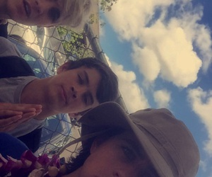 nash grier, hayes grier, and hawaii image