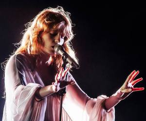 blush, dress, and florence and the machine image