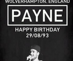liam payne, one direction, and happy birthday image