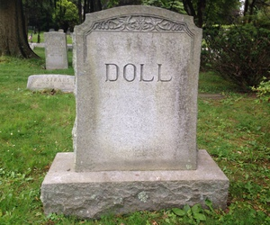 doll, aesthetic, and cemetery image