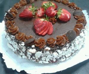 cake, chocolate, and dulce image