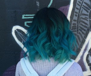 blue and tumblr image