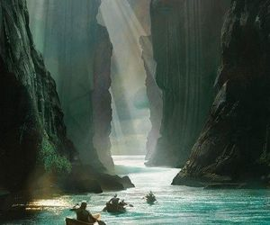 LOTR, river, and nature image