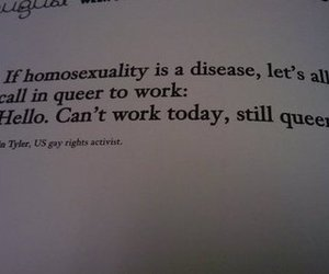 funny, queer, and words image