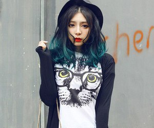 hair and japan image