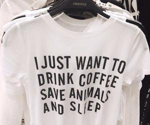 coffee, animals, and sleep image
