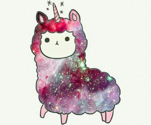 unicorn and galaxy image