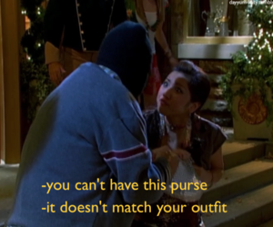 funny, purse, and london tipton image